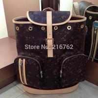 Women backpack new Ladies Bosphore Backpack Canvas M40107 daily Backpack bag