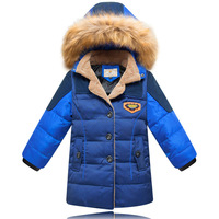 Newest frozen winter boys clothes Winter Jackets for boys fashion children clothing kids down coat Outwear 90% duck down coats