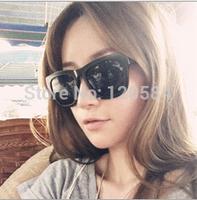 Free Shipping New 2014 Fashion Women's Coating Sunglasses Square Goggle  Women Vintage  Glasses Sun Glasses Female Eye Wear