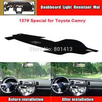 Car Dashboard Avoid light pad Instrument platform desk cover Mats Carpets Sun block mat,suitable for Toyota Camry 2012