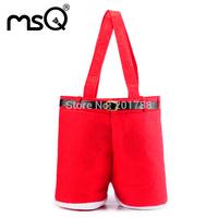 30pcs/lot  Christmas candy bag Santa pants New Year Christmas gift bag for gifts  Free shipping