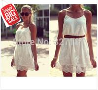 women summer dress 2014 lace casual dress sexy white dress roupas femininas desigual vestidos de festa plus size women clothing
