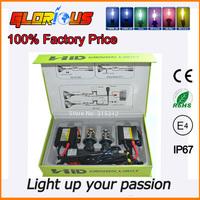 Top Quality Slim HID Kit H4 bixenon H/L Beam Xenon Light 12v DC 35w Car HID Lamp H4  Beam Bi Xenon H4 H/L