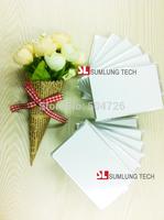 100pcs printable NFC smart card, ISO14443 TypeA, M 1K S50 IC card, for PVC/VIP/ID card printer