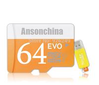 2014 Newest Memory Card 64GB EVO Micro SD Card Class 10 Flash Cards Micro SDHC SDXC Microsd TF USB Reader Box