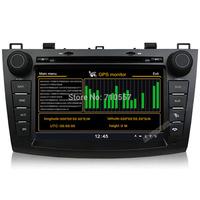 8 Inch Car DVD GPS Navi Headunit Autoradio For New MAZDA 3 2010-2012 Multimedia Stereo touch screen bluetooth USB Ipod