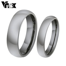 Fashion men and women wedding rings wholesale tungsten rings for wedding jewelry