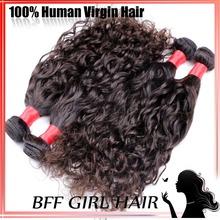 Big Discount omg hair productsbrazilian natural wave virgin hair ,4 mix bundles remi velvet hair weaves jet black(China (Mainland))