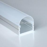 20meter (20pcs) a lot, 1meter per piece, Aluminum led profile for led strips light, aluminum led strip light housing