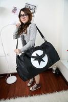 Large capacity luggage bag travel bag sports one shoulder cross-body handbag  ,large capacity girl's gym bag FREE SHIPPING