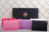 Hot Sale Women Brand Designer Lambskin Mini Handbags,Quilted Chain Shoulder Messenger bags Plaid Pattern Handbags 6 Colors