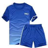 Free shipping Paintless soccer jersey blank football training services soccer jersey short-sleeve set jersey M~3XL