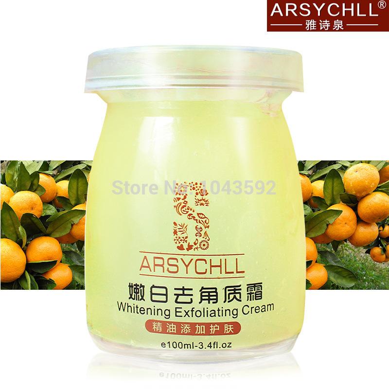 Free Shipping Exfoliator Skin Whitening Cream gentle Exfoliating Blackhead Remover Feet Care Product Skin Care Cosmetics(China (Mainland))