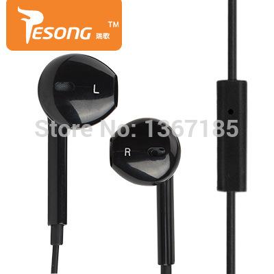 ruige q1 cellulare auricolari con micphone stereo auricolari per mp3 mp4 pc basso cuffie per iphone samsung