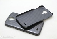 luxury pure carbon fiber phone case cover for Samsung Galaxy S4 i9500 i9508 i959