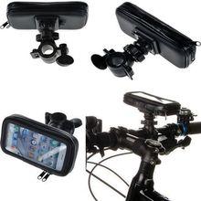 Universal Moto Bike Bicycle Waterproof Zipper Case Mount Holder support suporte para celular mobile Phone GPS for iphone 5 5s 5C