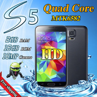 "Original 1:1 S5 phone i9600 cell phone 5.1"" MTK6592 Octa Core 1.6GHz 2GB RAM 32GB ROM HD 16MP 3G android SmartPhone Mobile phone"