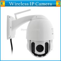 Wifi PTZ Home Surveillance Security Speed Dome PTZ Camera Outdoor 1280*720 20M Night Vision 3 X Optical Zoom HD CCTV Webcam 720P