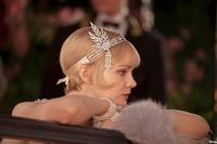 NEW 1920's flapper Great Gatsby Daisy style  headband tiara pearl Bridal Headpiece