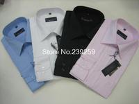 Free shipping 2014 new AM Brand shirt Slim Casual men Stripe shirts High Quality Mens dress shirts long sleeve men shirt