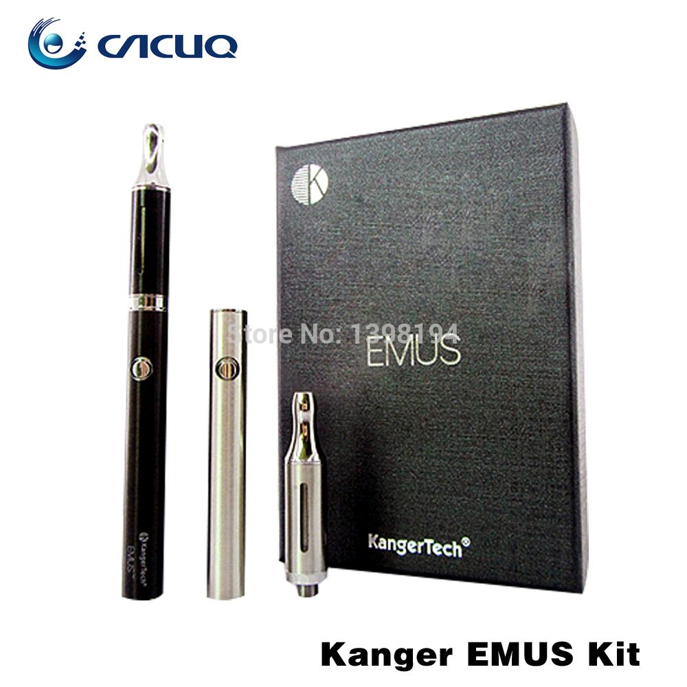 100% Original Kanger Emus Electronic Cigarette Starter Kit Kangertech Portable Slim E Cigarette Kits Electric Cigaret(China (Mainland))