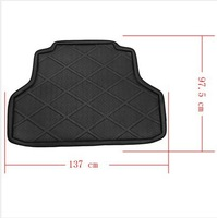 Details about  Cargo Tray Trunk Mat Liner fit for 2008-2013 Lancer Waterproof Black
