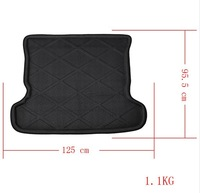 Cargo Tray Trunk Mat Liner fit for 2006 Pajero Waterproof Black