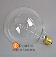 G80(Straight wire),Vintage Edison light Bulbs For Decoration,DIY Handmade Item,Fashion Incandescent Edison Bulb Fixture,E27/220V