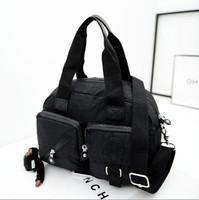 2015 top quality famous designer messenger bag vintage Nylon Women's Handbag shoulder kip bag with monkey