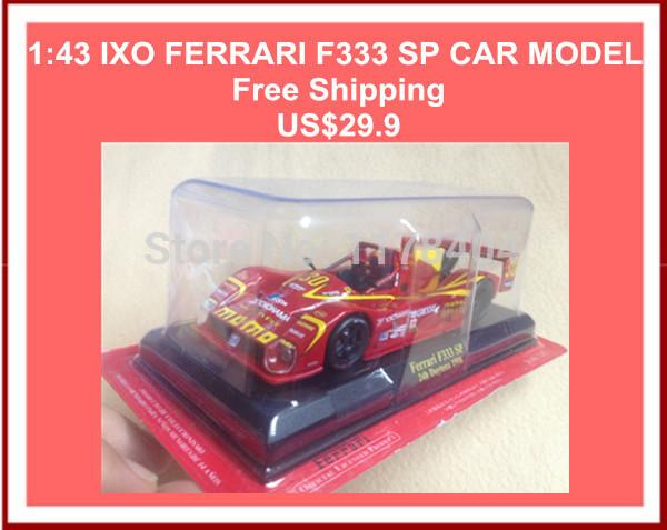 1:43 IXO F333 SP Racing car model, speed racer, racing collection model, classic toy car(China (Mainland))