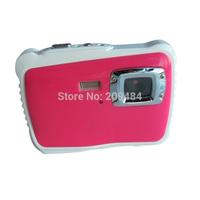 RED HOT Child Digital Waterproof Camera 8M underwater digital camera 2.0inch TFT LCD 4X Zoom