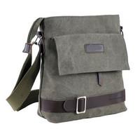 Men Fashion Bage 2014 New Men's Canvas handBag Messenger Retro Korean Fashion Men Business Casual Shoulder Bag Travel Bags Z924