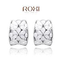 ROXI Brand Newest Big Sales Item stud earrings Crystal earrings accessories gold plated stud earrings fashion ewelry