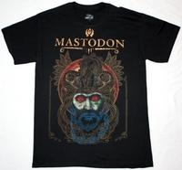 MASTODON CRACK THE SKYE Rock Band t shirt Men T-shirts100% Cotton 16 Colors Customized Logo Free Shipping