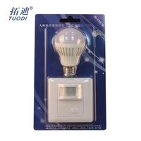 TDL-2180R Body sensor switch with LED light manufacturers wholesale adjustable delay