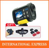 iShare S10W Full HD 1080P WiFi sport camera 170 degree wide angle action video camera for helmet Mini Sport DV