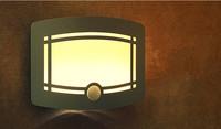 7125A motion sensor wall light with ce.Rohs certficication  6v PIR sensor LED light