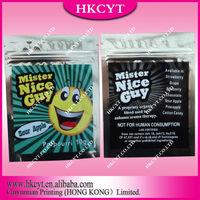 High quality Critical haze 1g herbal incense potpourri zipper bag