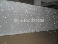 2M*4M White Led Star Curtain Wedding Backdrop LED Star Cloth LED Single Color Star Cloth For Nightclub LED Curtain Screen