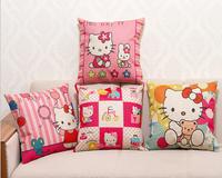 decorative cushion covers / 100% High Quality Cotton & Linen Pillow Cover Cushion Case, 18 X 18 Inch cushion cover, X-001