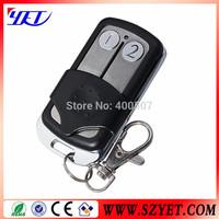 universal 2 buttons wireless remote control duplicator copy code rf remote for garage door opener