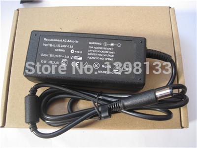 Адаптер ноутбука 18.5V 3.5A 65w HP COMPAQ NC2400 NC4400 oem 100% совместимый dc18 5v 3 5a 65w ноутбук адаптер для hp compaq 2230s notebook pc 2510p notebook pc сша