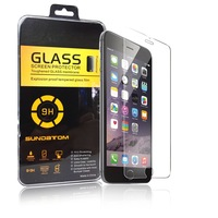 free shipping ultra thin 0.3mm premium Tempered Glass screen protector for iPhone 6 plus 6G 5.5 inch with retail box