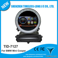 7inch Touchscreen Car DVD For BMW Mini Cooper After 2010 Year With GPS Navigation Radio Bluetooth Audio Video Player Free Map