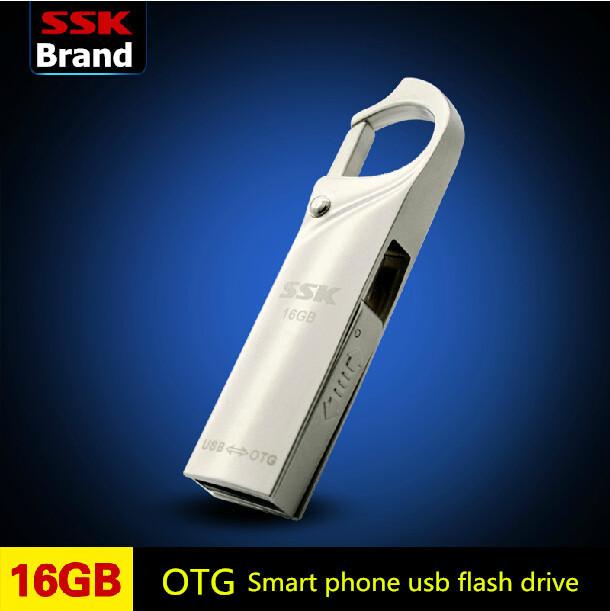 USB-флеш карта SSK /usb /100% 16G usb OTG SFD256(16G)