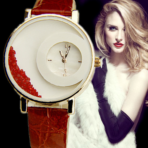 Brand New 2015 Relogio Feminino watches women женские толстовки и кофты brand new feminino 2015 577