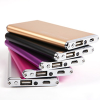 2014 New 5600mAh Power Bank  Portable Super Slim External Battery backup Charger for mobile phone#L0192486