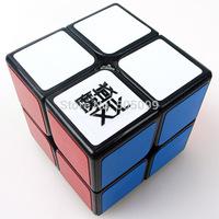 YJ MoYu LingPo 2x2x2 Black  Magic Cube 2x2x2 Black  Version