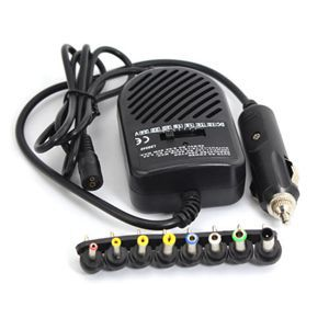 3C New Universal Notebook Laptop Computer Power Supply DC 80W Car Charger Adapter Set for Sale C3(China (Mainland))
