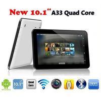 "2014 Newest Cheap 10 inch Tablet PC Android 4.4 Quad Core Allwinner A33 RAM 1GB ROM 8GB 10""HD Screen WIFI Bluetooth Dual Camera"